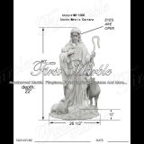 Metrix Carrara Marble Statue for Garden Decoration Ms-1000