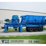 Yifan Patented Technology Mobile Rubber-Tyred Crusher
