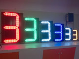 Outdoor Wireless Controll LED Gas Price Charger Sign