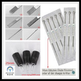 Professional Disposable Rubber Tattoo Grips Tubes and Tattoo Needles