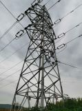 Electric Power Transmission Galvanized Angle Steel Tower