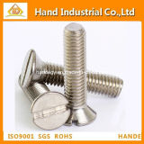 Csk Slot Head Stainless Steel Machine Screw
