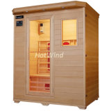 Plug and Play for 2-3 People Sauna Cabin Far Infrared Sauna Room Sek-B