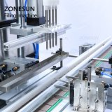 Zonesun Magnetic Pump Milk Essential Oil Bottled Water Automatic Packing Bottle Water Liquid Packing Filling Machine