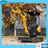 Mini Hydraulic Crawler Excavator Compact Digger with Laidong Engine
