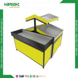 Metal 2 Tiers Fruit and Vegetable Display Stand