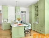 Fashion PU Finish Kitchen Cabinet (BY-1103)