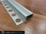 Aluminum Stair Edge Trim with Silver Color