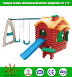 Children's Plastic Toys Outdoor Playground with Ce/ISO Certificate