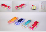 Wholesale Hot Sale Soft Stripe Ballet Slippers