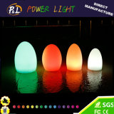 Color Changing Wireless Illuminated Plastic LED Egg Lamp
