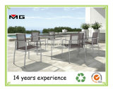 Very Nice Design Garden Dining Chairs with Stainless Steel Frames