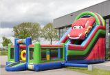 Top Sale Outdoor Inflatable Bouncer Slide, Inflatable Fun City