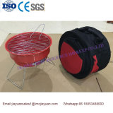 Brs Da 002portable Mini Outdoor Picnic Charcoal BBQ Grill with Cooler Bag