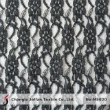 Black Cheap Polyester Lace Fabric Wholesale (M5020)