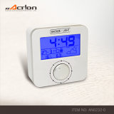Dcf Radio Controlled Weather Station Alarm Clock