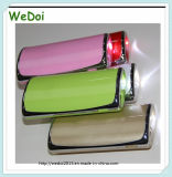 5200mAh ABS USB Charger Power Bank with LED Lights (WY-PB63)