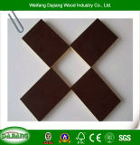 12mm/14mm/16mm/18mm Reusable Faced Formwork Panel with Poplar Core and Black/Brown Film