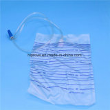 High Quality Disposable 2000ml Sterile Urine Bag for Adult Baby