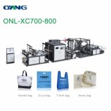 Multi-Function Non Woven Bag Making Machine with Online Handle Attach