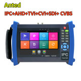 "7"" LCD Portable CCTV Video Test Monitor for Ipc, Ahd, HD-Tvi, Cvi, Sdi Security Camera Multi-Function"