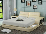 Lb8805 Designer Furniture LED Light and Storage Modern Bed
