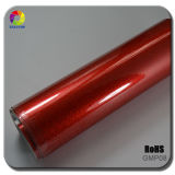 Red Color Glossy Metalic Pearl Vinyl Car Wrapping Film