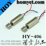 Cylinder Type Mini DC Vibrating Motor with Cables for Toy (HY-406)