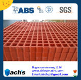 Red Color FRP Grating with Grited Surface