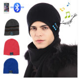 Whoesale Fashion Calling and Listening-Song Wireless Beanie 10 Meters Signal Soft Healthy Acrylic Headset Caps Stereo Blueteeth Headband Factory Ypf23