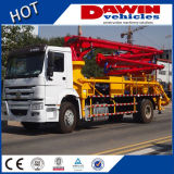 Chinese Construction Machinery 37m Truck Mounted Concrete Pump Power for One Belt One Road