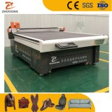 Automatic Textile Leather Cutting and Punching Machine with High Cutting Speed for Sale Price