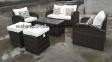 PE Rattan New Design Sofa Table Set Outdoor Furniture