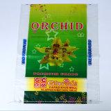 OPP Printing Laminated PP Woven Rice Sacks Plastic Packaging Bags