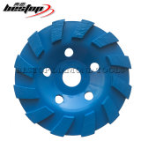 D125mm Cheap Cold Press Diamond Cup Wheel for Concrete Stone Grinding