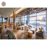 Hotel Lobby Furniture Reception Area Chair Lobby Sofa Table for Sale