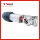 Stainless Steel 304 Sanitary Tri Clamp Pneumatic Butterfly Valves with Control Head