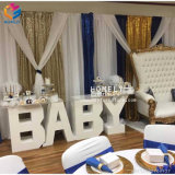 Long Hotel Restaurant Outdoor Baby Letter Table Used on Sale