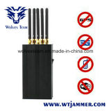 5 Antenna Portable Cell Phone WiFi GPS L1 Signal Jammer