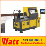 Stationary High Speed Pipe End Beveling Machine in Workshop Pipe End Facing Tube Beveling