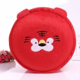 Wholesale Nice Cartoon Folding Round Inflatable Red Color Sofa Ottoman in China