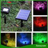 20 LEDs Remote Control Landscape Solar Light RGBW Outdoor IP65 Waterproof Garden Light