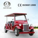 8 Seaters Sightseeing Cart Classic Vintage Cart Electric Vehicle