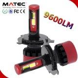 Automobile Lighting Matec New LED Car Headlight COB Chip 6000K H4 LED Headlight Conversion Kit