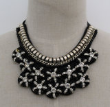 Ladies Fashion Charm Costume Jewelry Chunky Collar Necklace (JE0078)