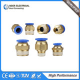 Automatic Industrial Hydraulic System Connection Pneumatic Pipe Fitting Quick Connector
