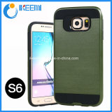 PC+TPU Slim Armor Mobile Phone Case for Samsung S6