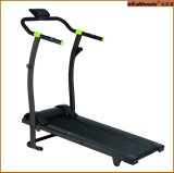 Wholesales Competitive Price Home Use Light Moveable Foldable Manual Treadmill