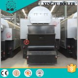 7MW Double Drums Water Tube Coal Fired Hot Water Boiler
