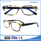 Eyewear Fashion Acetate Optical Frame Models, High Quality Reading Glasses